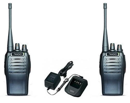 Bộ đàm tai nghe không dây có thiết kế nhỏ gọn